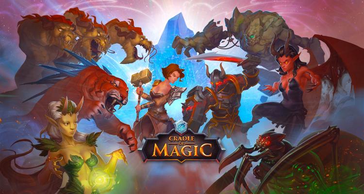 Cradle of Magic - card game battle arena rpg