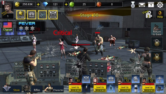 Idle Soldier Zombie Shooter PvP Clicker
