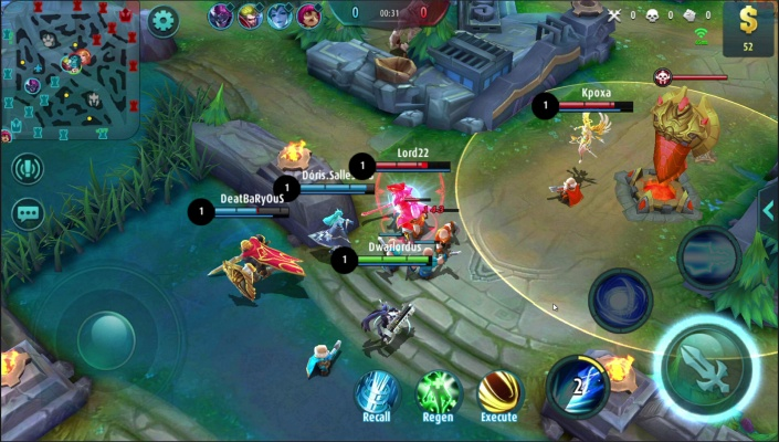 13 Best MOBA games on Android that are as in-depth as their