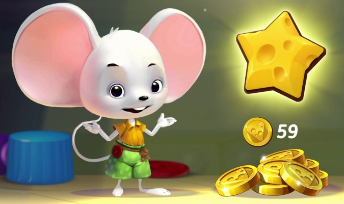 Mouse House Puzzle Story