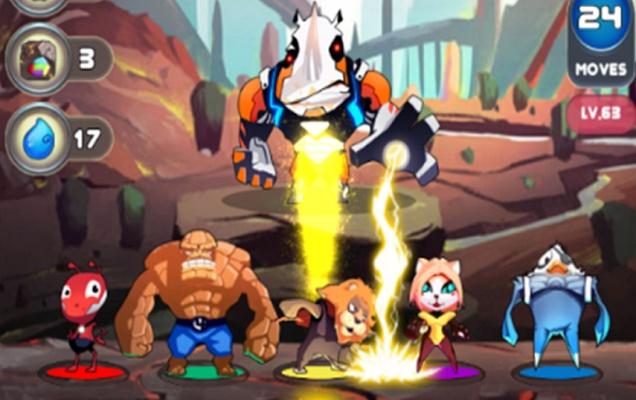 Pet Superheroes Adventure Puzzle Quest