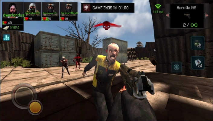 zombie shooter games online