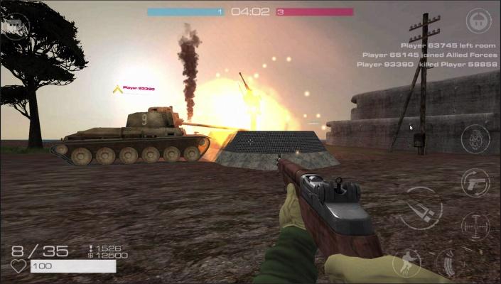 Vanguard Online Battlefield
