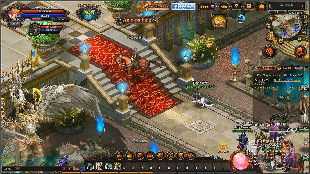 Best Free Browser MMORPG Games list 2017 No MMOBomb