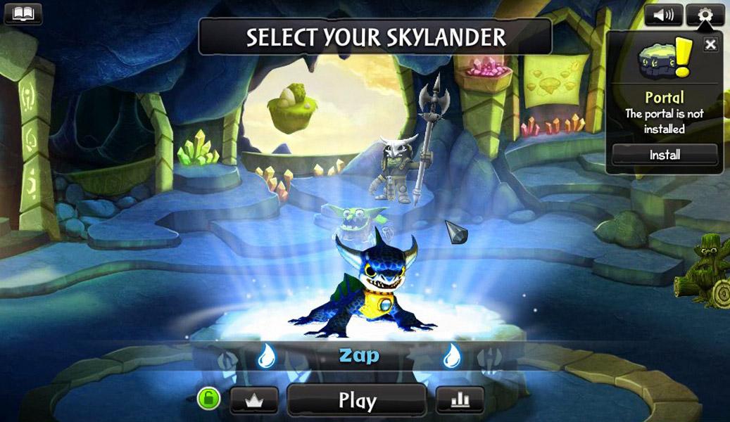 skylander online spiele