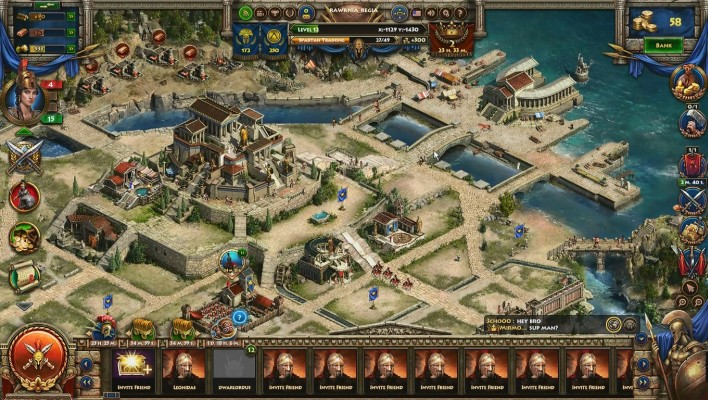 Sparta War of Empire Video Game Blog Review