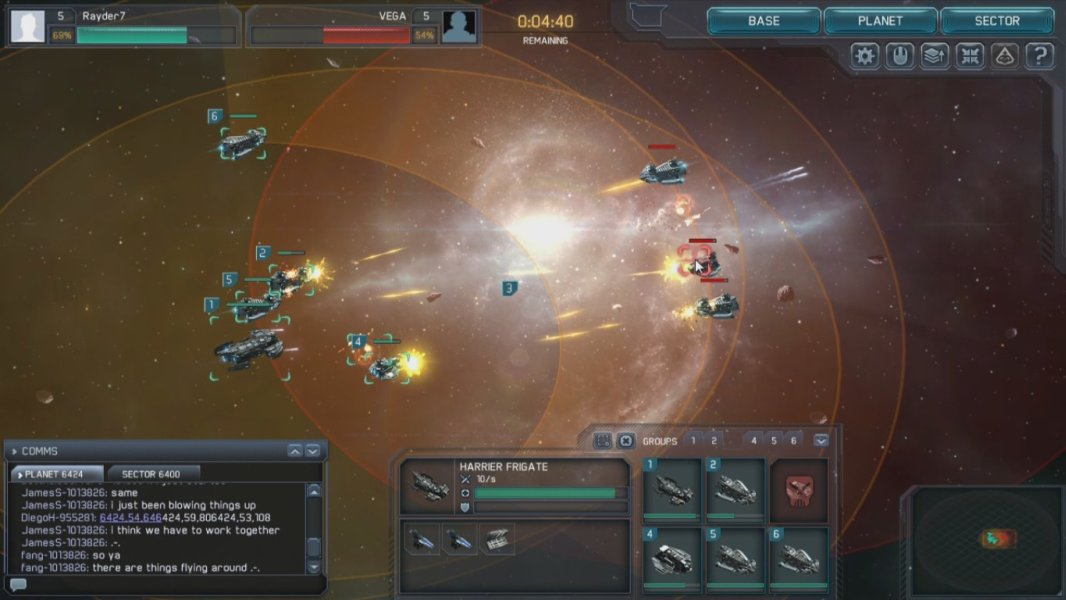 space strategy browser games