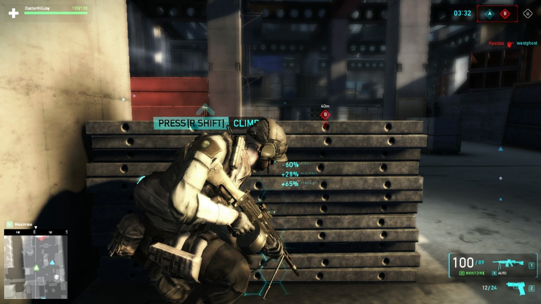 3 person shooter games online