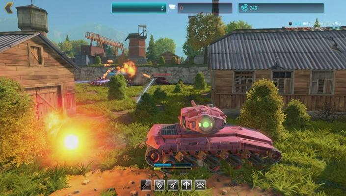 Image result for tanki x gameplay