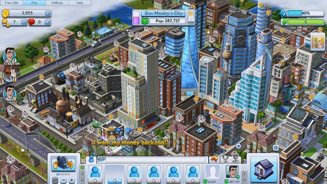 Free city building simulation games downloads instasky for Build a house free online