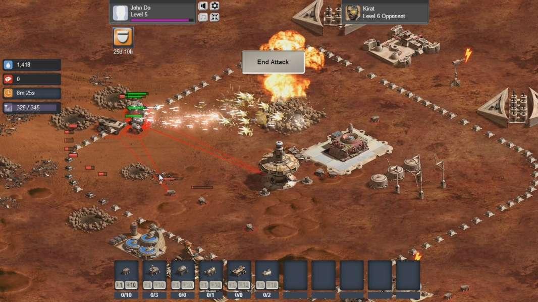 a87cda05c105 Mars Frontier is a social game