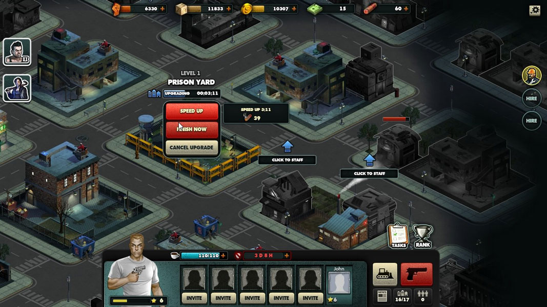 mobsters criminal empire game free