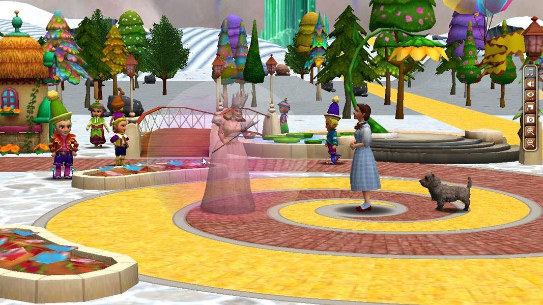 all wizard of oz games free