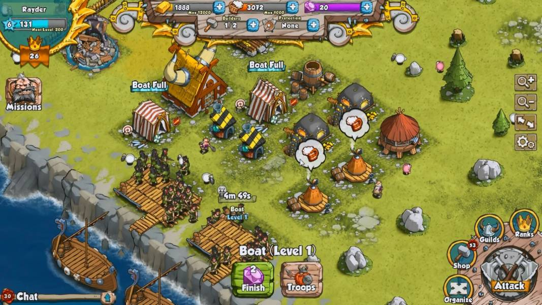 f3116ca6a1c4 Vikings Gone Wild is a Facebook based social game